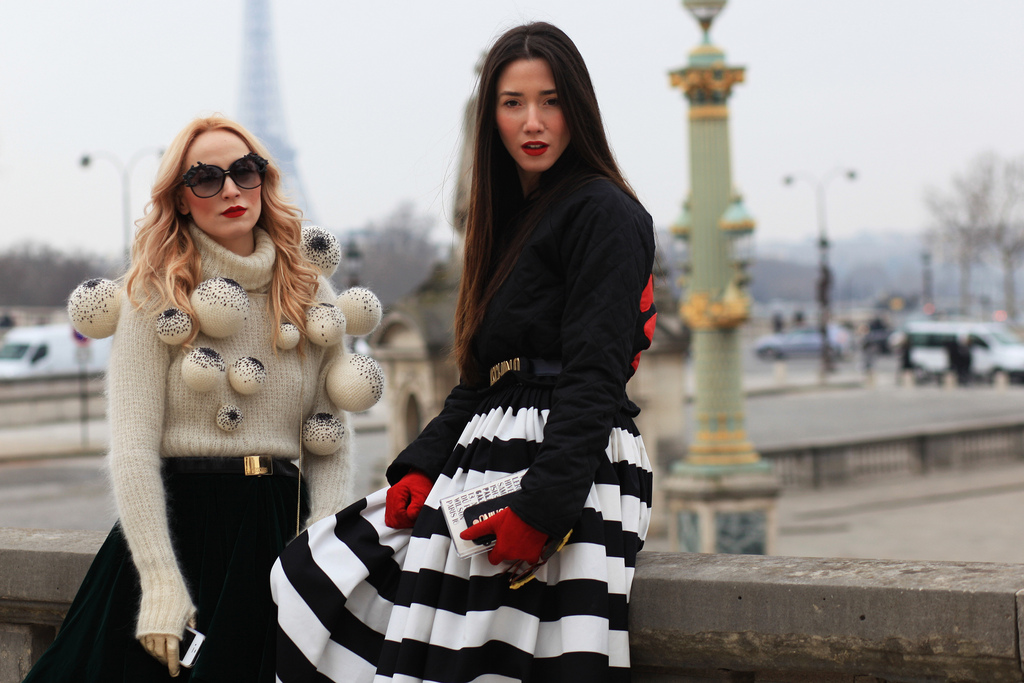 streetstyle paris fashion week fw2013