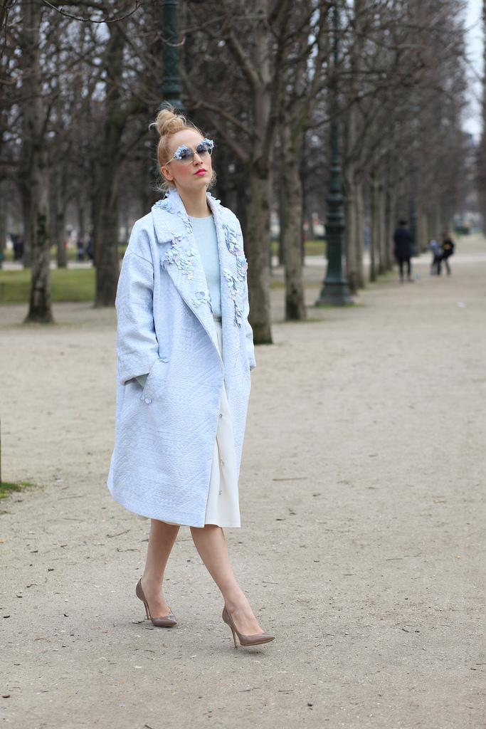 Paris Fashion Week FW2013 street style with diana enciu and alina tanasa