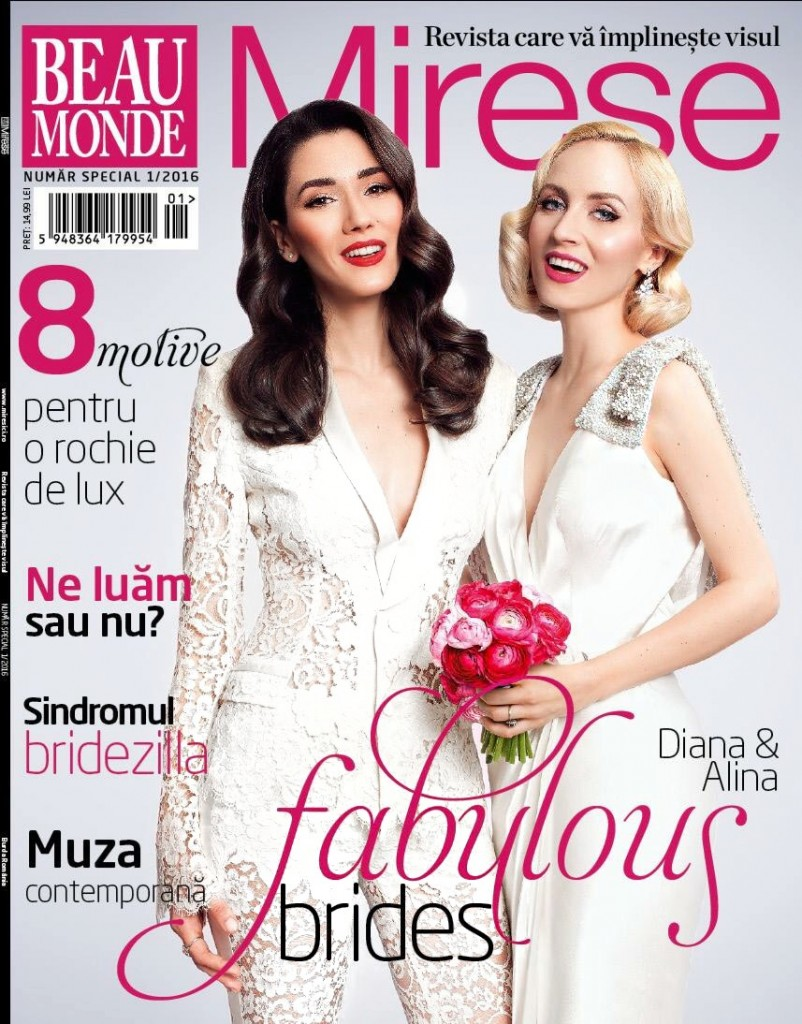 Coperta_revista_beau_monde_mirese_fabulous_muses_Diana_Enciu_Alina_Tanasa