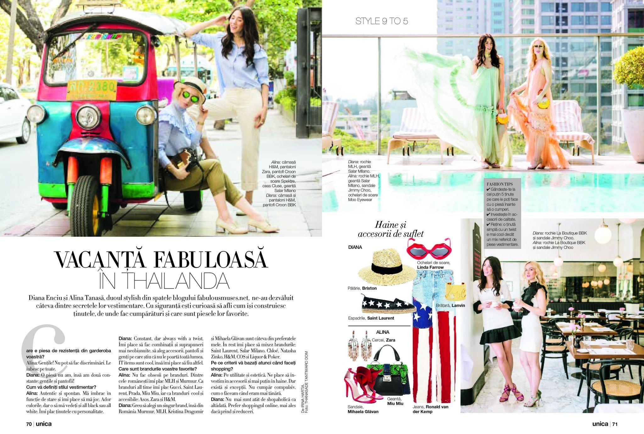 Revista_Unica_Fabulous_muses_dinana_enciu_alina_tanasa
