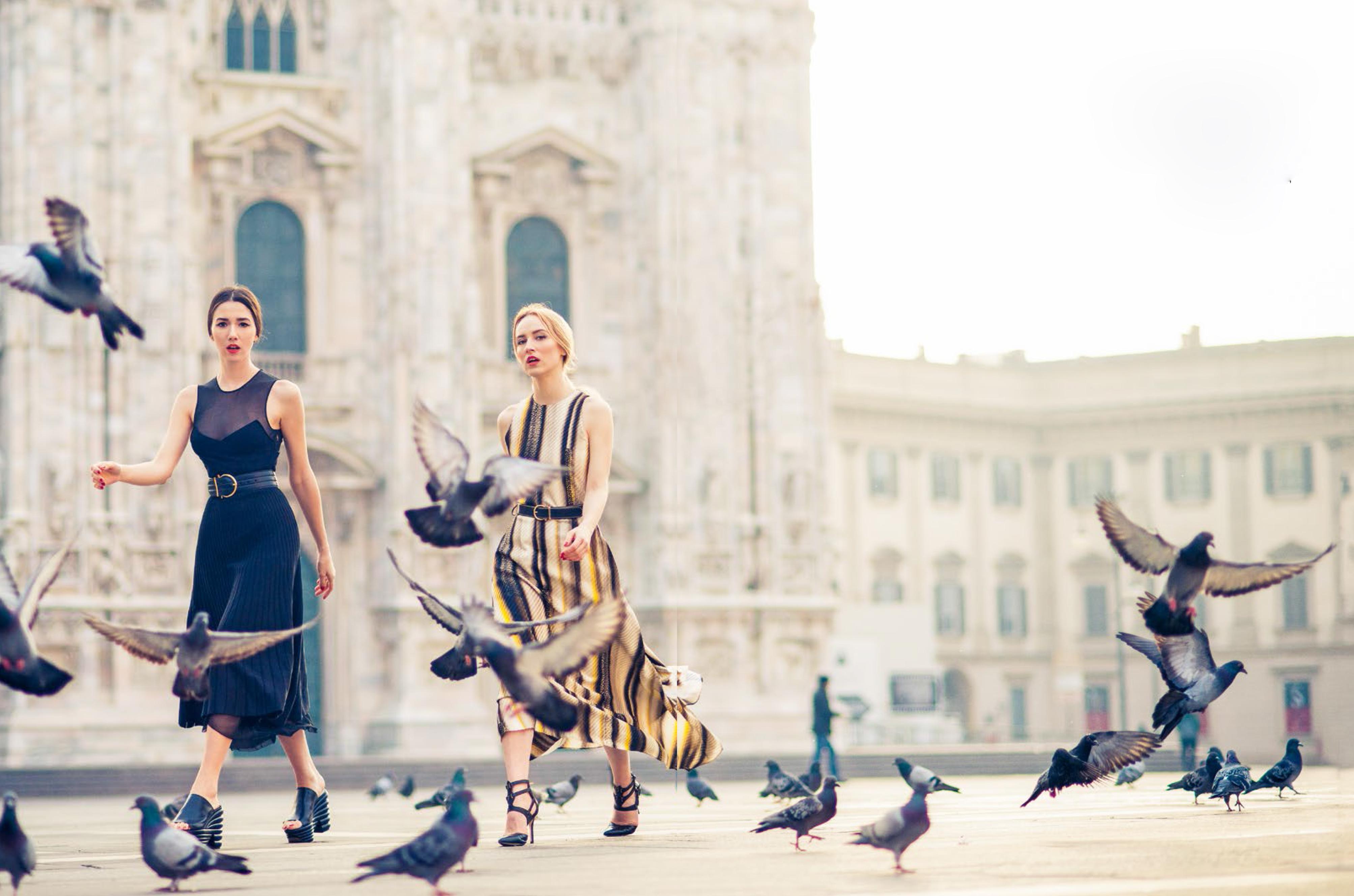 glamour magazine_milan editorial_milan fashion week_fabulous muses_alina tanasa_diana enciu_ferragamo2014 (2)