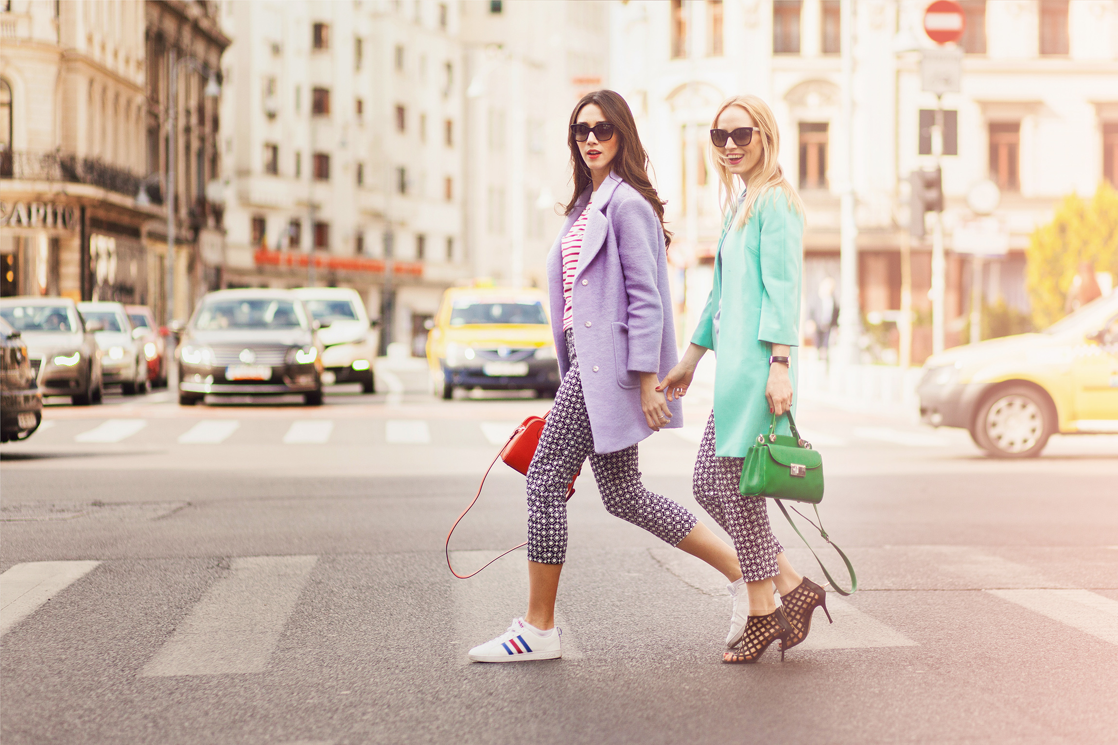 debenhams romania_debenhams collection_fabulous muses_diana enciu_alina tanasa_ ss 2015 trends_stripes top_pattern trends (9)