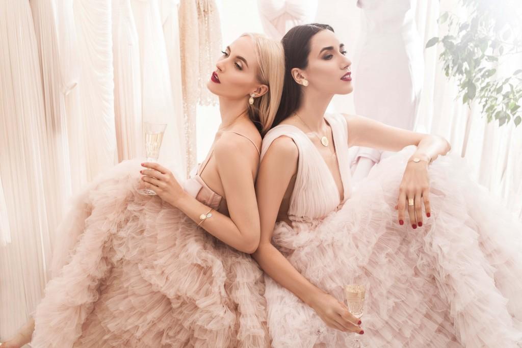 marco bicego jewelry - oscar jewelry - ballerina dress - powder pink dress - fabulous muses - alina tanasa - diana enciu - kultho boutiques2