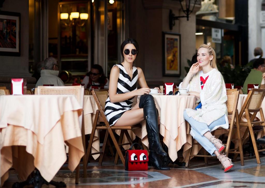 mfw ss 2016- fabulous muses-fabuloasele-milan street style- shopping destination