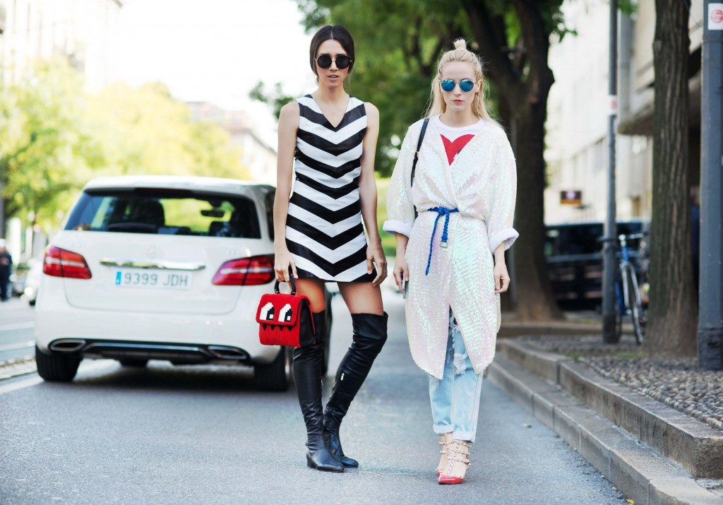 mfw ss 2016- fabulous muses-fabuloasele-milan street style- street style look