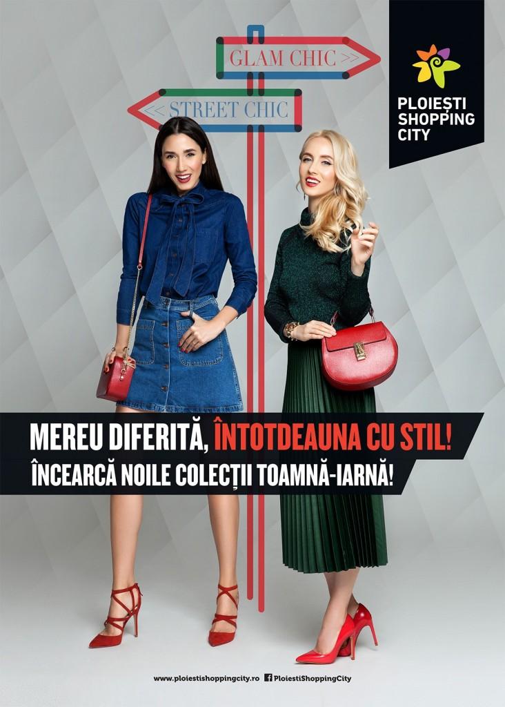 Diana Enciu si Alina Tanasa de la Fabulous Muses pentru Ploiesti Shopping City (1)