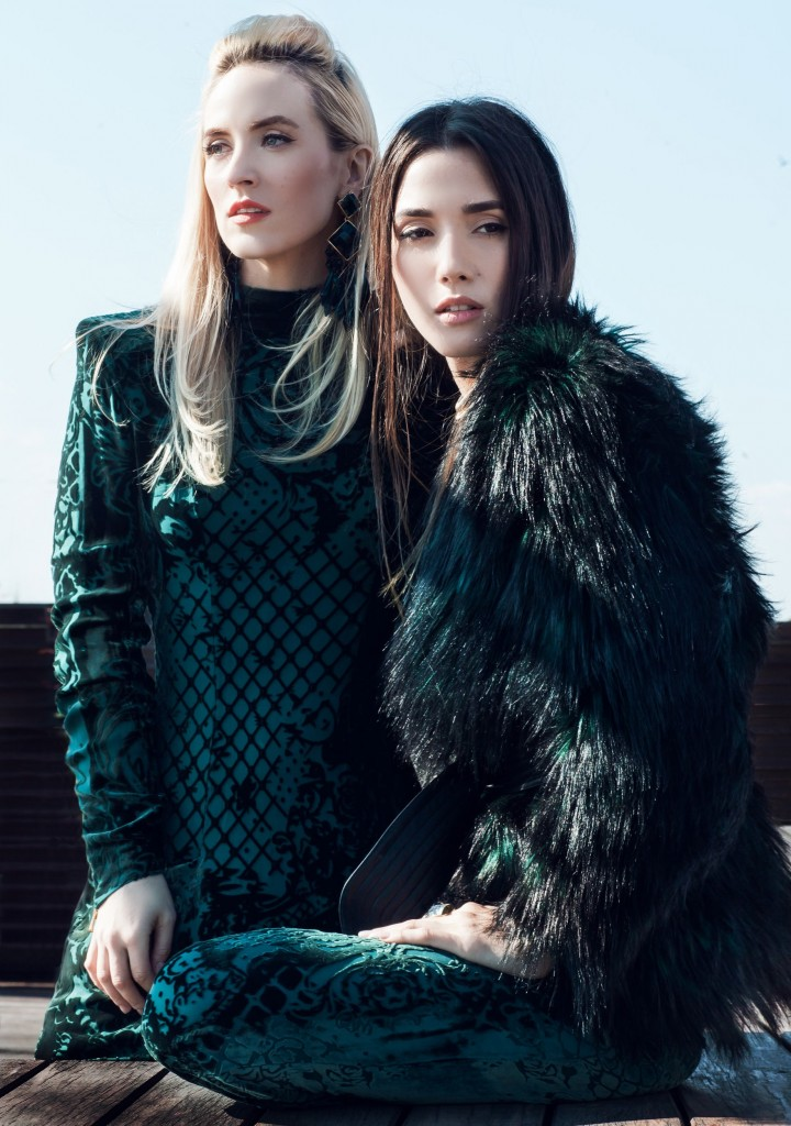 1Blamain x H&M Collection-balmaination-fabulous muses-balmain dress - colectie balmain x h&m - balmain collaboration