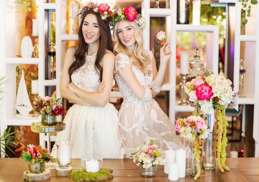 4Fabulous Muses- Fabuloasele-Wedding dresses- Floraria mobila-chefs-buchet mireasa