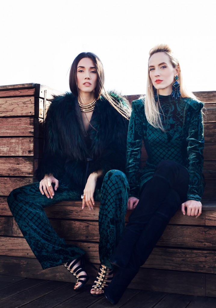 5Blamain x H&M Collection-balmaination-fabulous muses-balmain dress - colectie balmain x h&m - balmain collaboration
