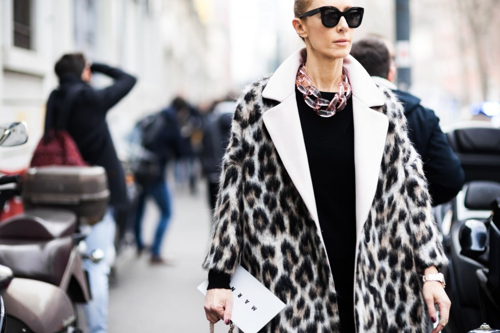 Angelis-Elina-Halimi-Milan-Fashion-Week-Fall-Winter-2015-2016-Street-Style-leopard-coat-best-winter-coat-leopard style