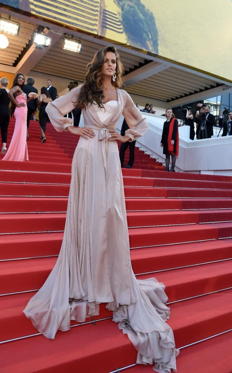 Izabel_Goulart in Raplh&russo-cannes-best-dressed-2016