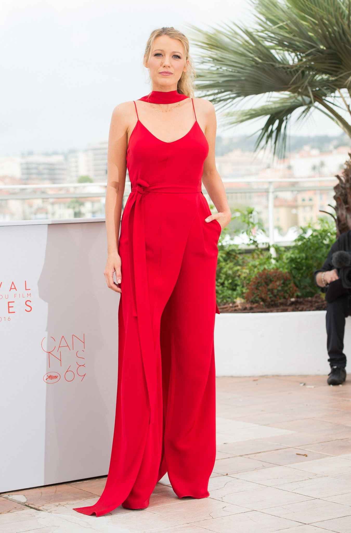 blake lively red Juan Carlos Obando jumpsuits-best-dressed-cannes-2016