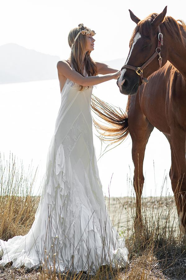 boho mood ss 2016 bridal trend Christos Costarellos