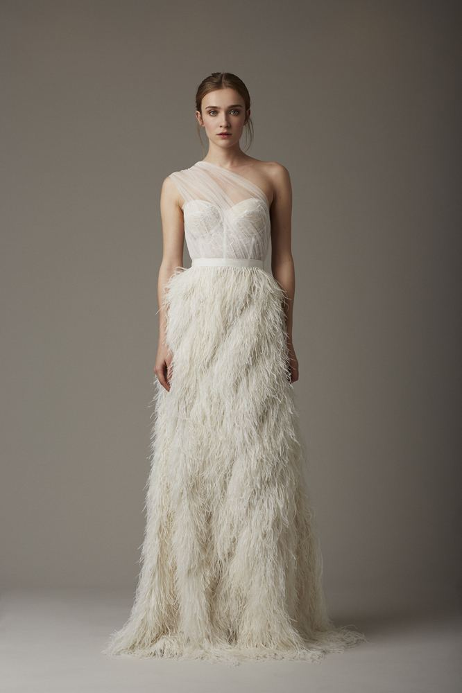 feather trend lela rose bridal ss 2016