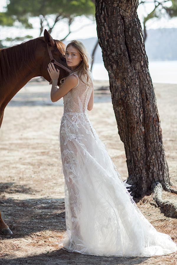 nude illusion Christos Costarellos ss bridal