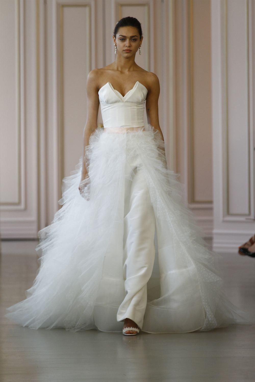 the overskirt Oscar-de-la-Renta-Spring-2016-bridal 2