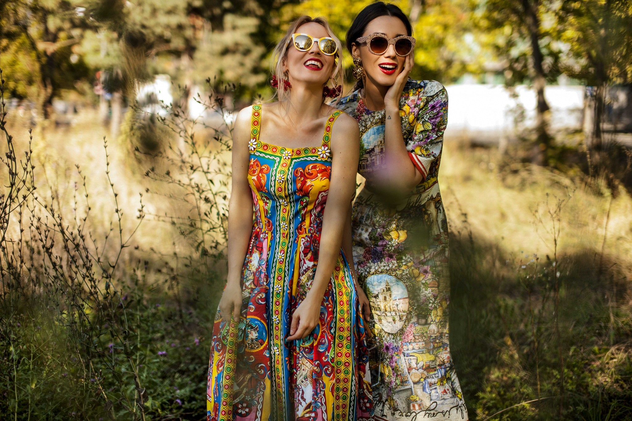 3dolce_gabbana_eyeglasses_fabulous_muses_diana_enciu_alina_tanasa