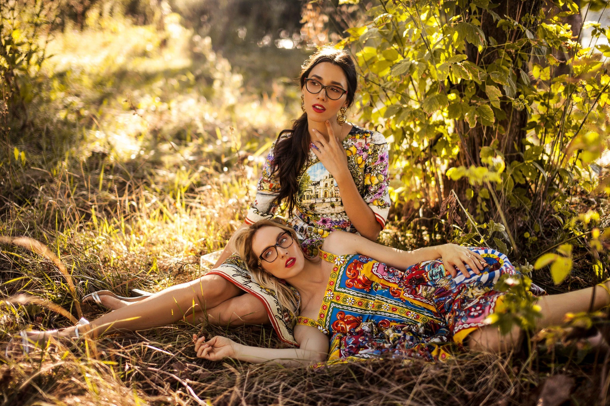 6dolce_gabbana_eyeglasses_fabulous_muses_diana_enciu_alina_tanasa