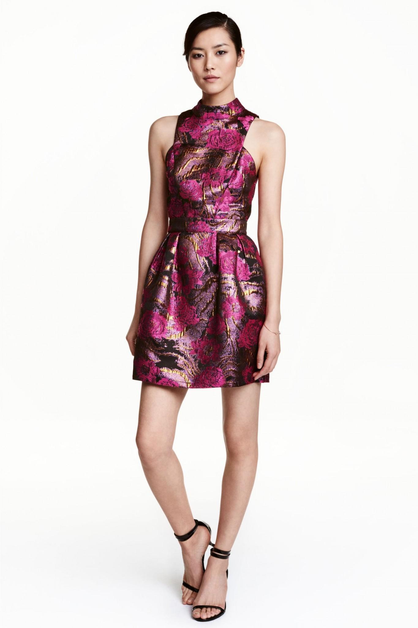 7-rochie-din-tesatura-jacard-hm-20-de-idei-de-rochii-pentru-craciun-fabulous-muses