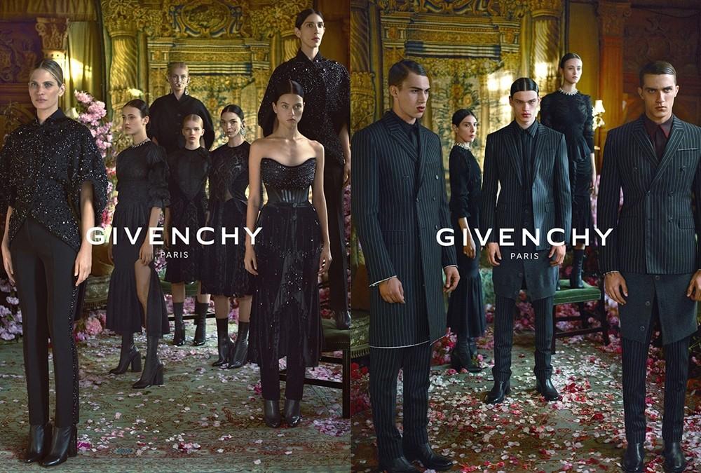 Givenchy10_Riccardo_Tisci_Fabulous_Muses