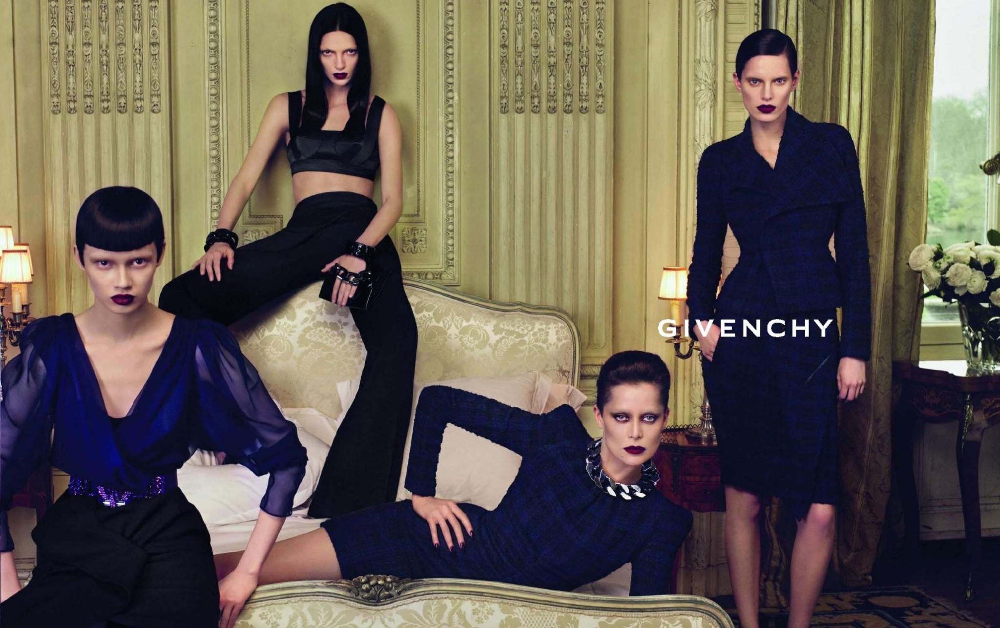 Givenchy8_Riccardo_Tisci_Fabulous_Muses